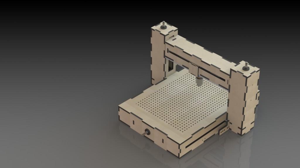 Mini Fraiseuse CNC