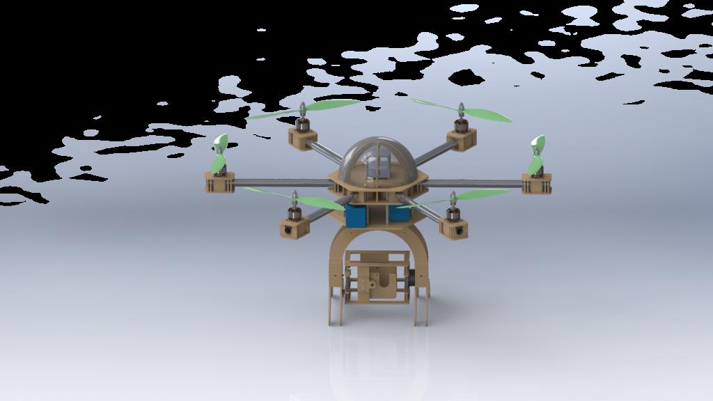 Organic Drone Hexa